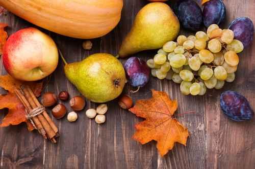A l'automne, les fruits tombent bien !