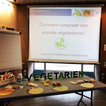 Conférence Alimentation végétarienne